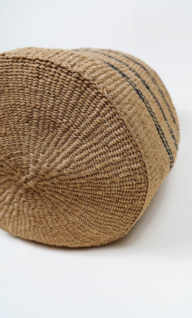 cesta spiaggia in fibre naturali realizzata in Kenya dagli artigiani africani scatto 5