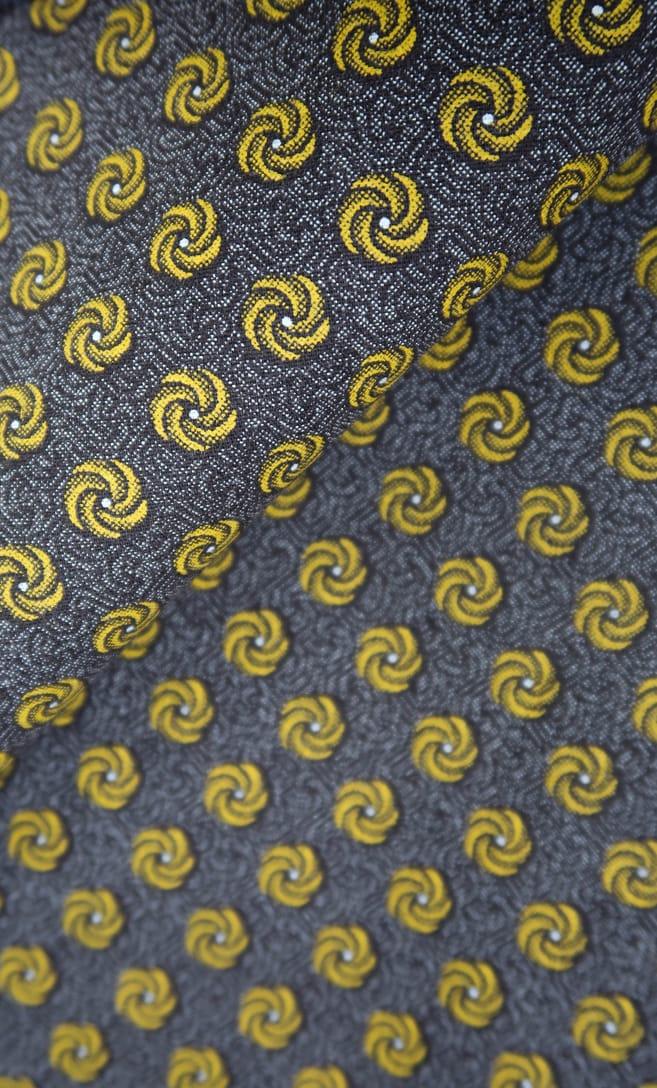 tessuto shweshwe cannella Da Gama originale con logo Three Cats 100% cotone made in Sudafrica scatto 2