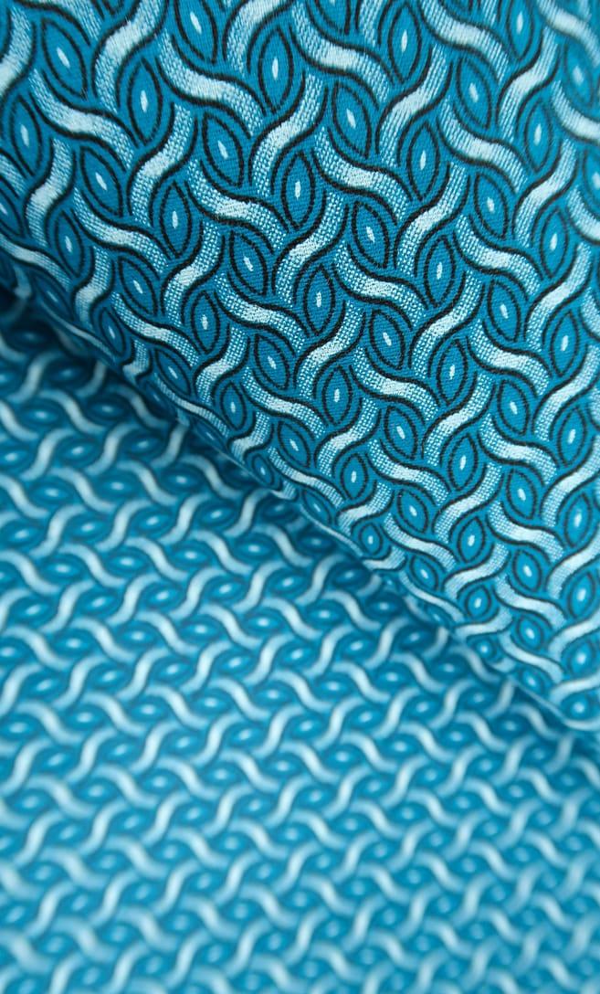 tessuto shweshwe mare Da Gama originale con logo Three Cats 100% cotone made in Sudafrica scatto 3