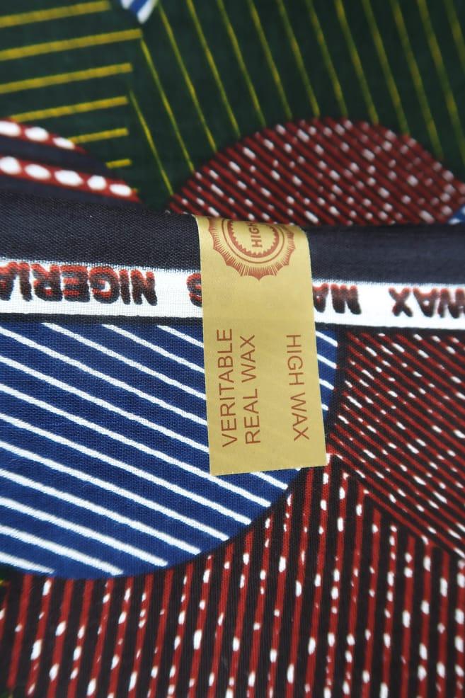 tessuto wax candy 100% cotone di alta qualità made in Tanzania scatto 4
