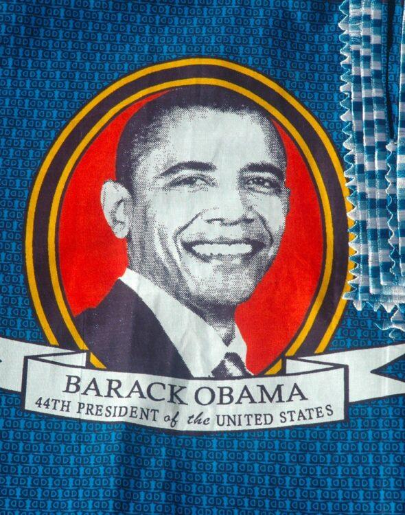 tessuto wax africano usato per realizzare capi di alta moda