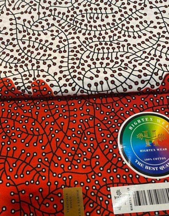 Tessuto wax della nuova CLOY Collection primavera-estate 20201
