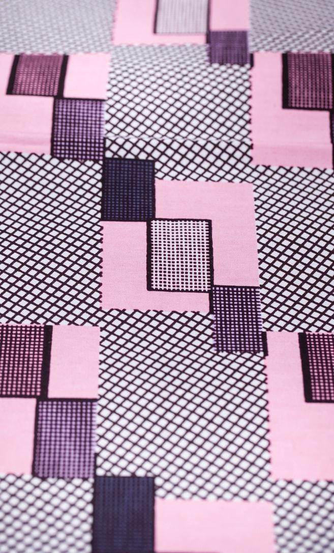 tessuto wax amore 100% cotone di alta qualità made in Tanzania scatto 2
