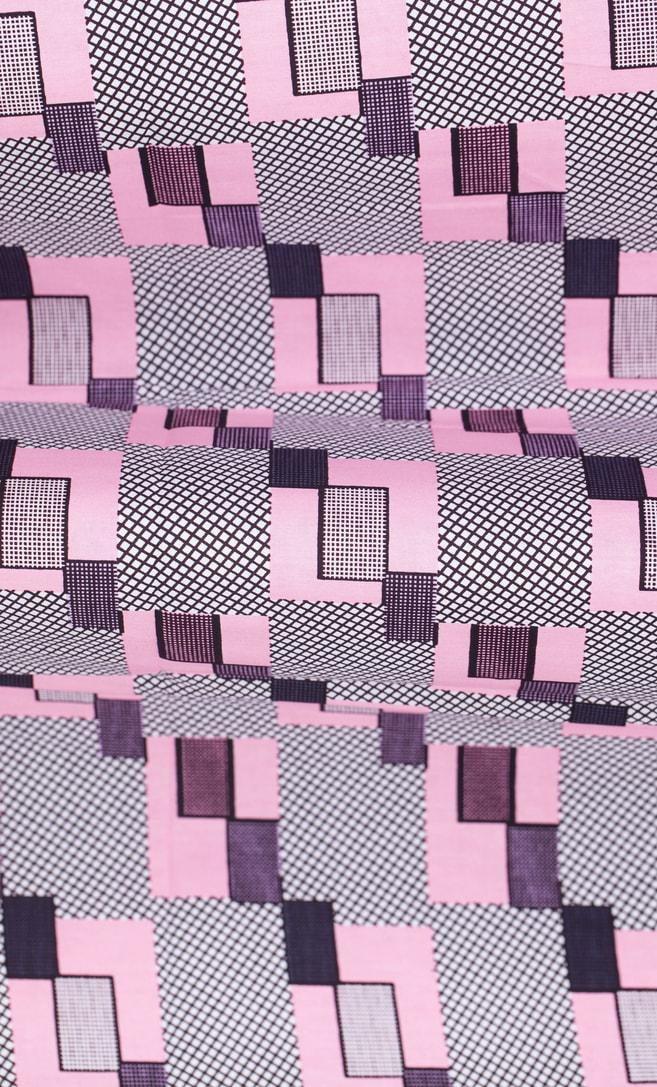 tessuto wax amore 100% cotone di alta qualità made in Tanzania scatto 3