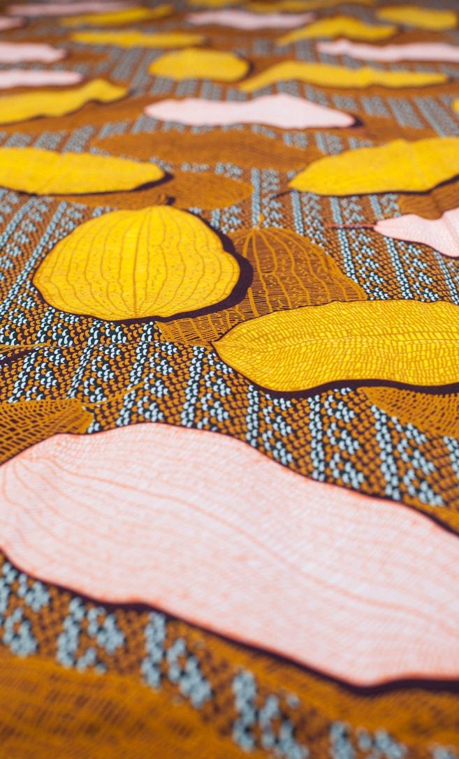 tessuto wax grano 100% cotone di alta qualità made in Tanzania scatto 4
