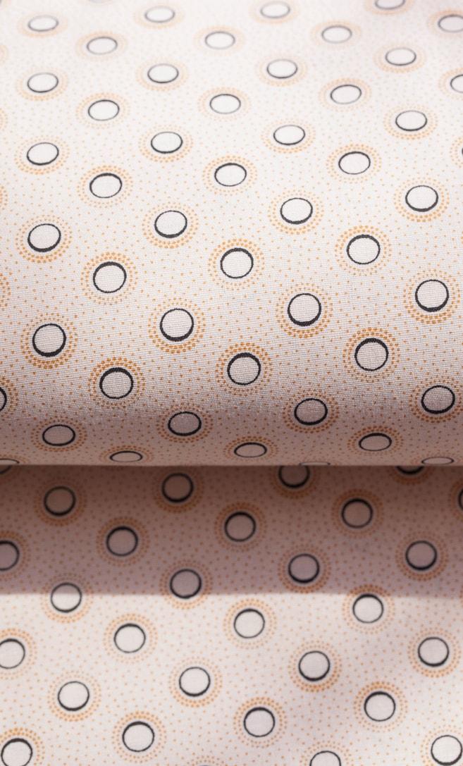 tessuto shweshwe panna Da Gama originale con logo Three Cats 100% cotone made in Sudafrica scatto 3