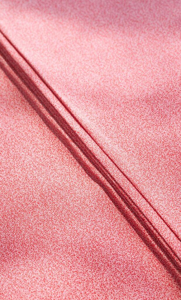 tessuto shweshwe rubino Da Gama originale con logo Three Cats 100% cotone made in Sudafrica scatto 2