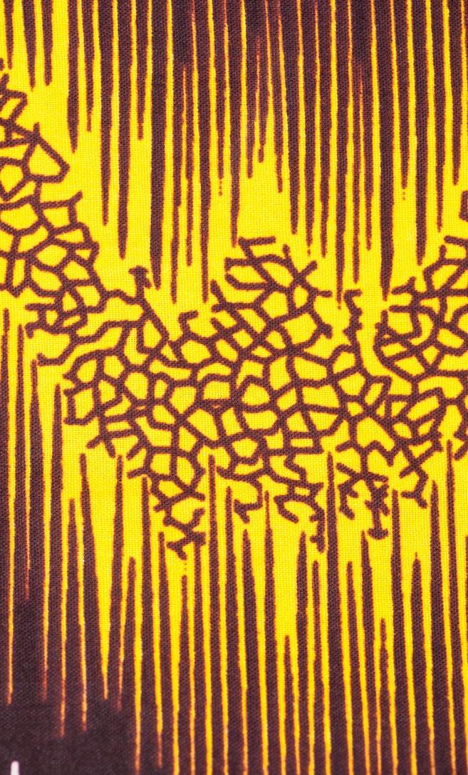 tessuto wax sentiero 100% cotone di alta qualità made in Tanzania scatto 2