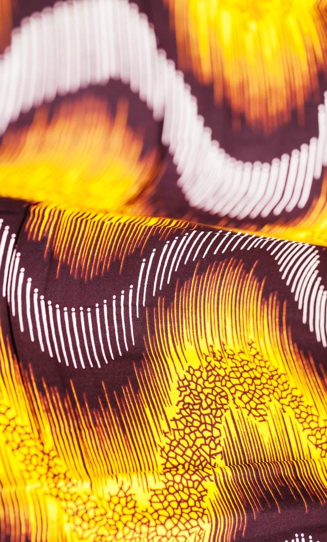 tessuto wax sentiero 100% cotone di alta qualità made in Tanzania scatto 3