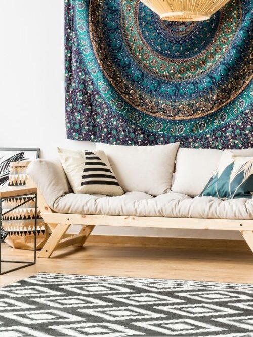 Arredare casa in stile africano con tessuti africani e oggetti unici