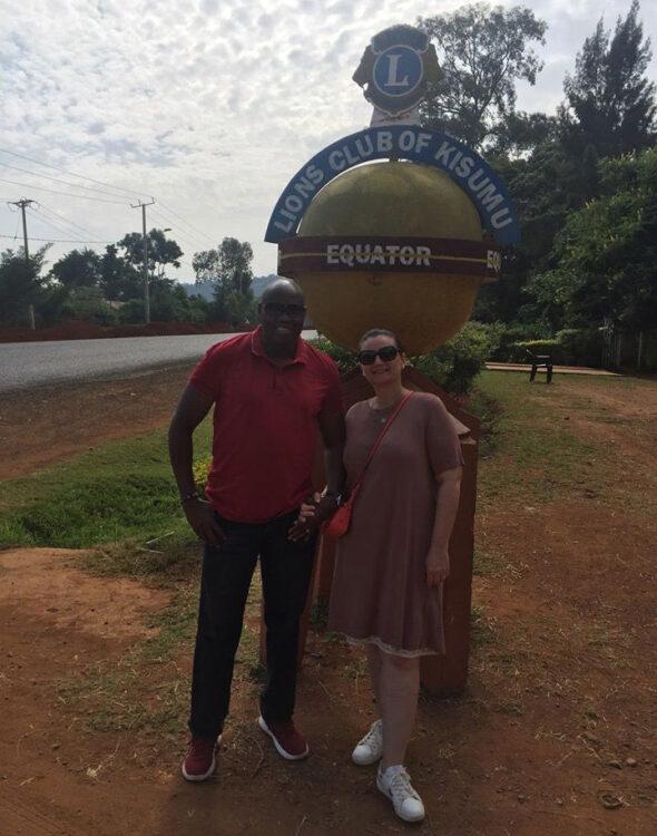 I creatori di CLOY Claudia e Antony nel loro viaggio in Africa