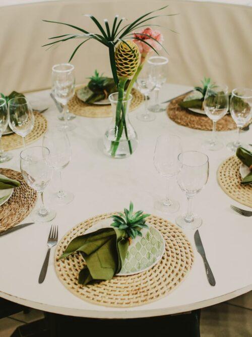 Table setting: come realizzarli utilizzando i tessuti africani